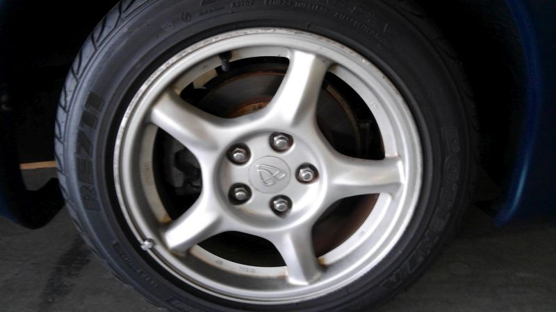 1992 Mazda RX-7 Type R wheel 4