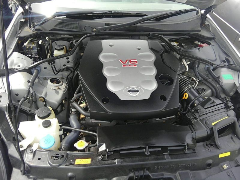 V35 350GT 70th Anniversary engine bay