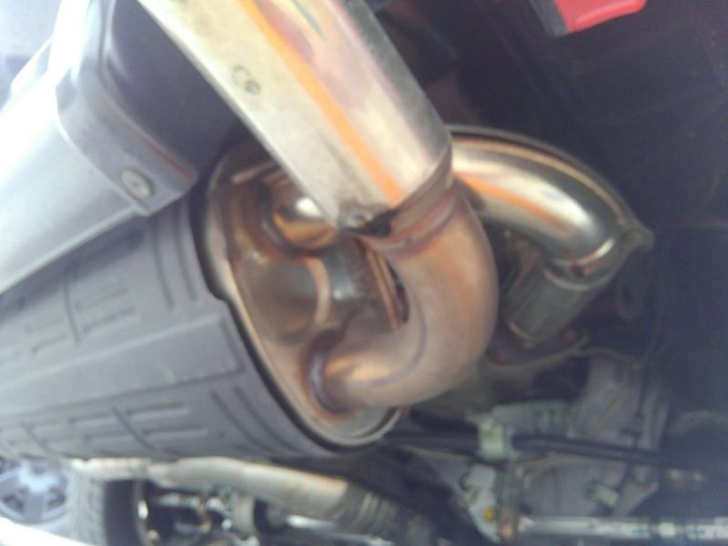 1995 HONDA NSX NA1 Coupe exhaust 2