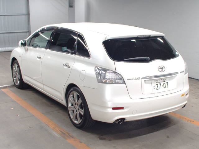 2007 Toyota Mark X ZIO 350G wagon auction rear