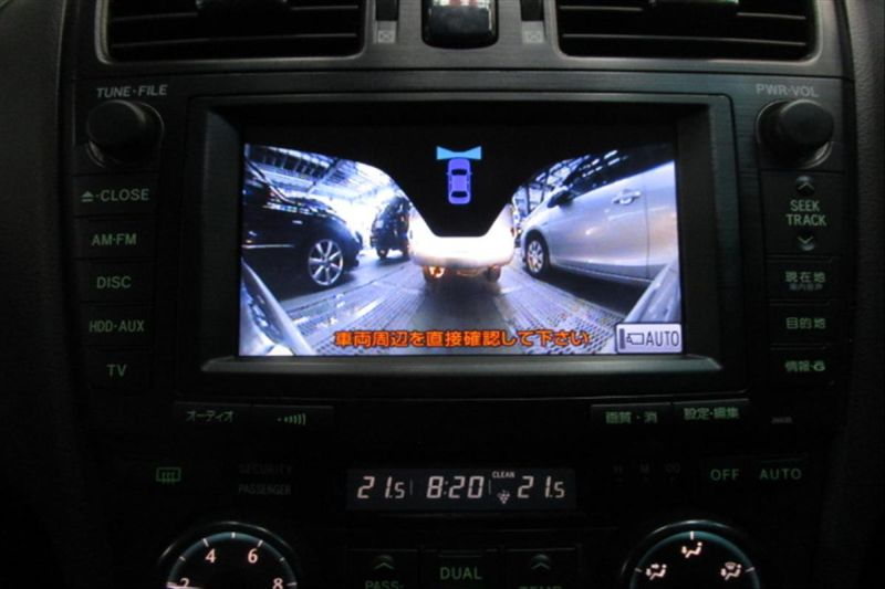 2007 Toyota Mark X ZIO 350G wagon front camera