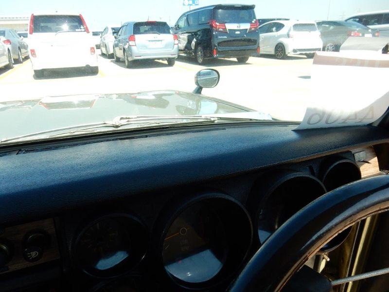 Hakosuka 1971 Nissan Skyline KGC10 coupe dash