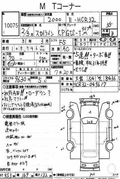 1990 Nissan Skyline R32 GTS-t auction report
