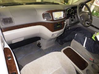 2000 Toyota Regius V L Package auction interior