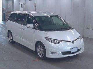 2008 Toyota Estima Aeras auction front