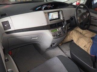 2008 Toyota Estima Aeras auction interior