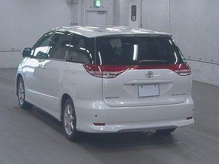 2008 Toyota Estima Aeras auction rear
