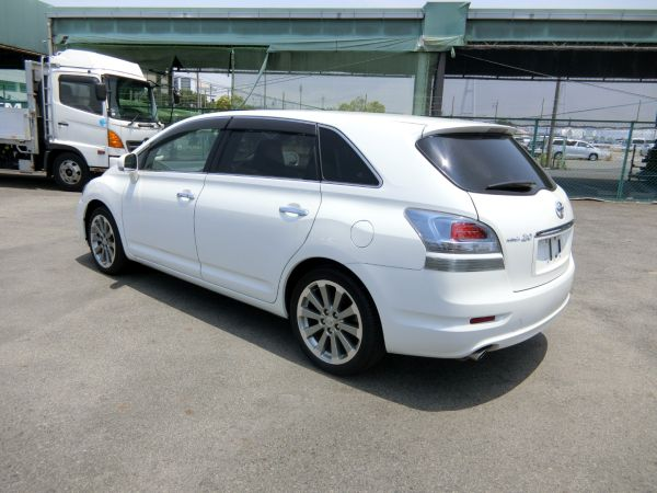 2011 Toyota Mark X Zio 350G Wagon left rear