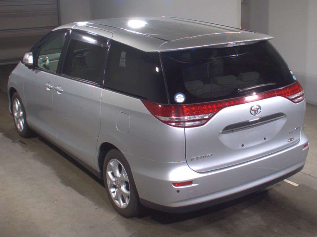 2007 Toyota Estima 2WD 7 seater G Package auction rear