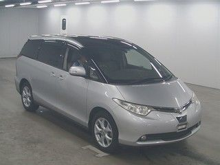 2008 Toyota Estima 4WD 7 seater auction front