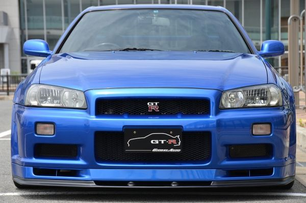 2000 R34 GTR in Bayside Blue at Global Auto Osaka 2