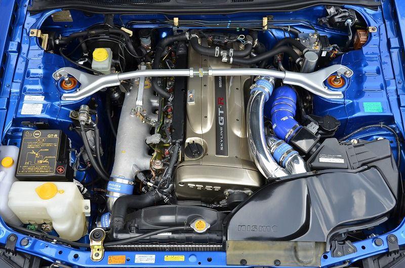 2002 R34 GTR VSpec 2 NUR with Z-Tune bodykit engine