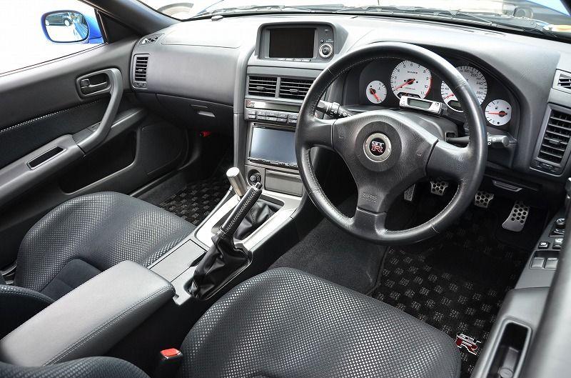 2002 R34 GTR VSpec 2 NUR with Z-Tune bodykit interior