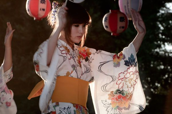 Obon 2017 auction dates dancer in white