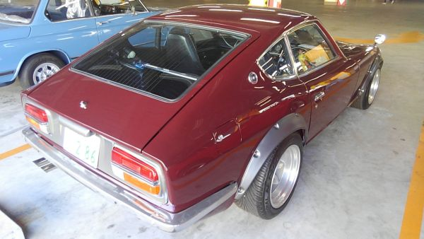 1977 Nissan FairladyZ 2 seater right rear