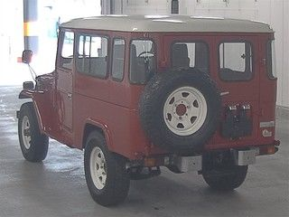1984 Toyota Land Cruiser BJ46 Long auction rear