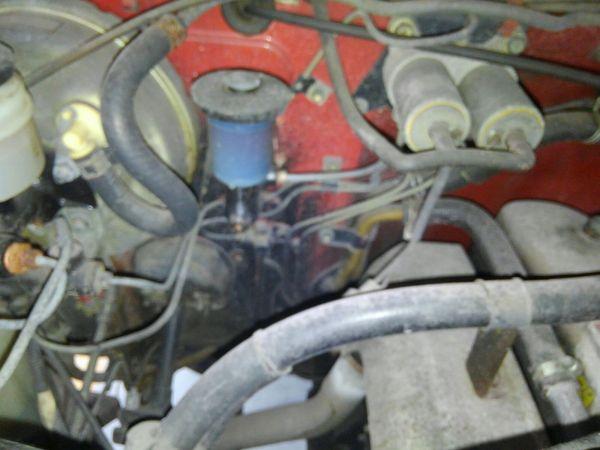 1984 Toyota Land Cruiser BJ46 Long engine 3