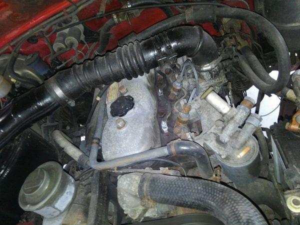 1984 Toyota Land Cruiser BJ46 Long engine