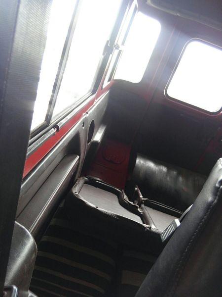 1984 Toyota Land Cruiser BJ46 Long rear interior