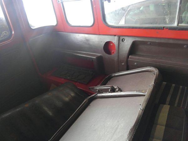 1984 Toyota Land Cruiser BJ46 Long rear seat