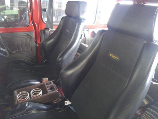 1984 Toyota Land Cruiser BJ46 Long seats