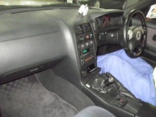 1998 Nissan Skyline R33 GTR auction interior