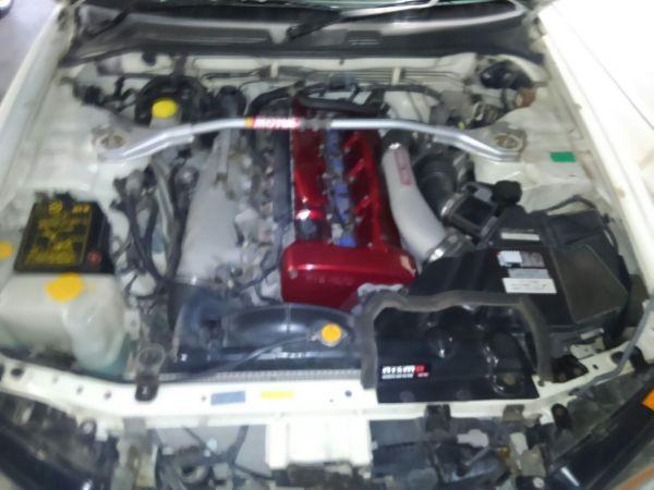1999 Nissan Skyline R34 GTR engine
