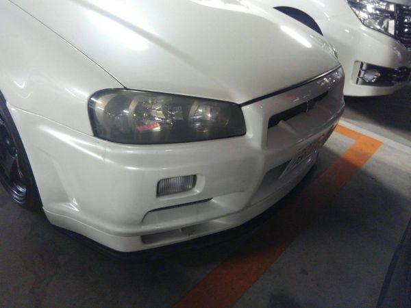 1999 Nissan Skyline R34 GTR headlight