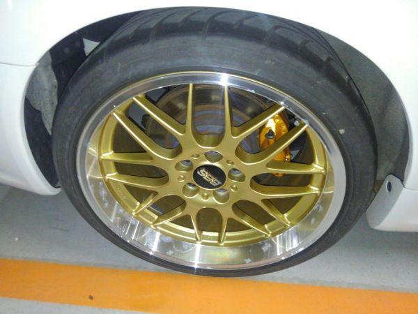 2001 Nissan Skyline R34 GTR BBS wheel 3