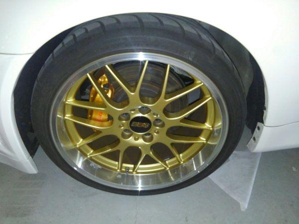 2001 Nissan Skyline R34 GTR BBS wheel 4