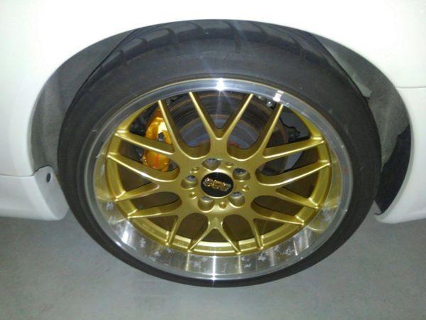 2001 Nissan Skyline R34 GTR BBS wheel