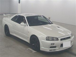 2001 Nissan Skyline R34 GTR VSPEC auction front