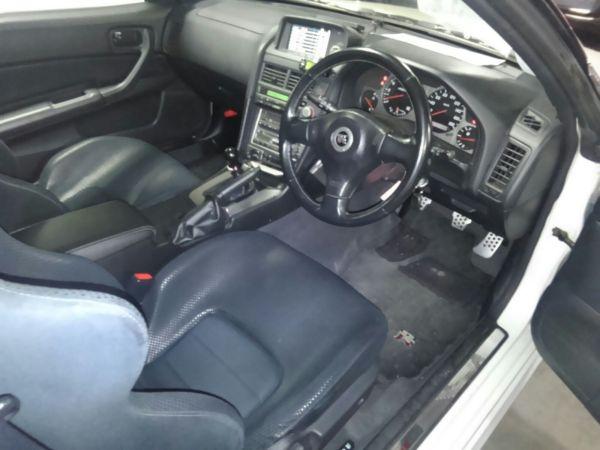 2001 Nissan Skyline R34 GTR VSPEC interior