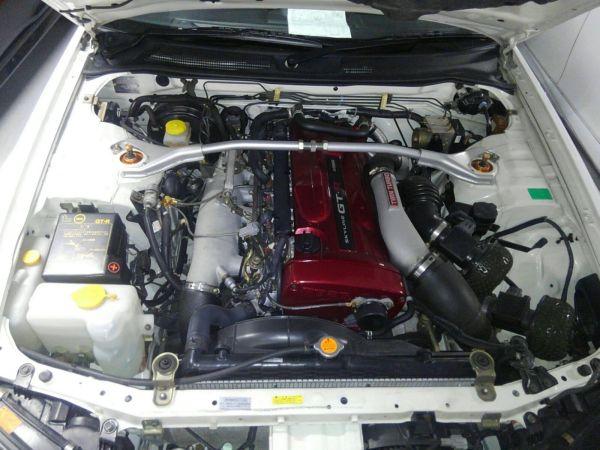 2001 Nissan Skyline R34 GTR engine