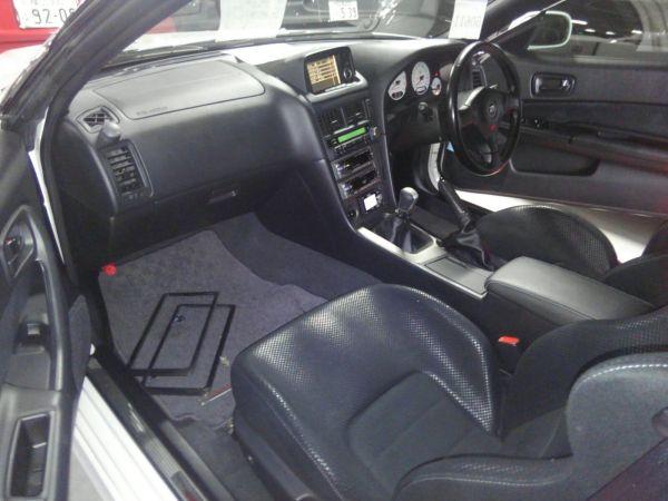 2001 Nissan Skyline R34 GTR interior