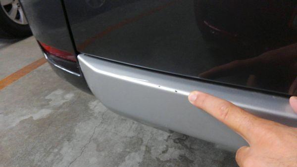 2011 Mitsubishi Delica D5 petrol CV5W 4WD Chamonix bumper scratches