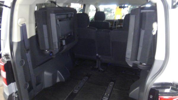 2011 Mitsubishi Delica D5 petrol CV5W 4WD Chamonix rear seats