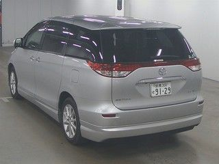 2012 Toyota Estima G 4WD 7 seater auction rear
