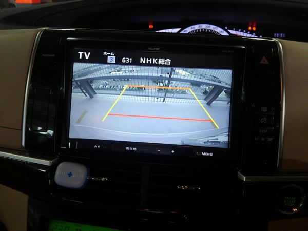 2012 Toyota Estima G 4WD 7 seater reversing camera