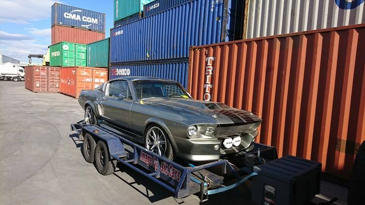 1967 Ford Mustang ELEANOR container