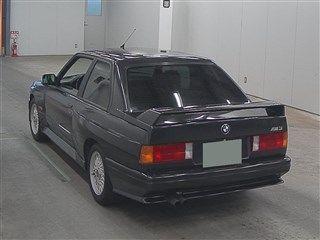 1988 BMW E30 M3 auction rear