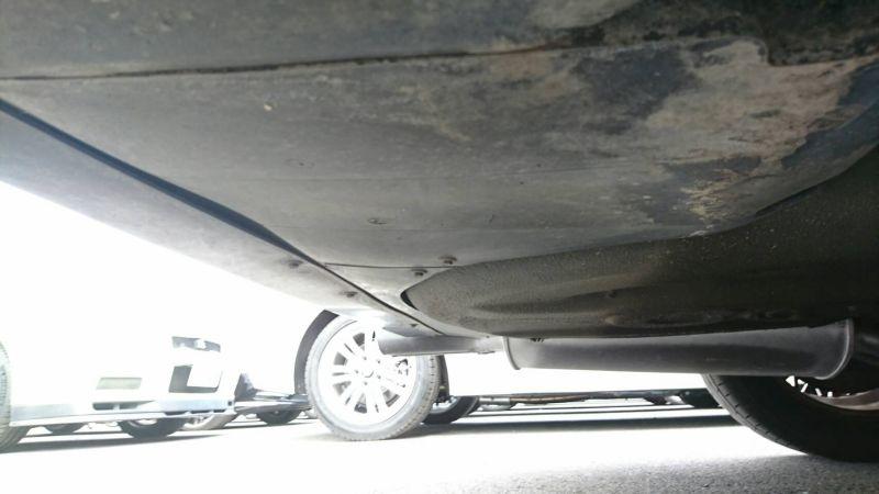 1988 BMW E30 M3 underbody