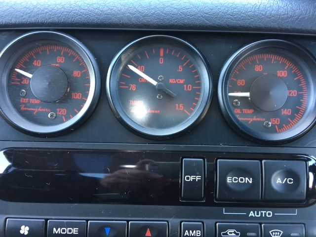 1994 Nissan Skyline R32 GT-R Tommy Kaira Special Edition gauges