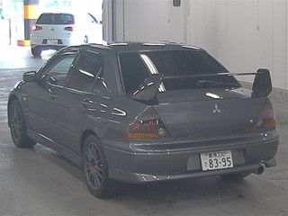2004 Mitsubishi Lancer EVO 8 MR auction rear