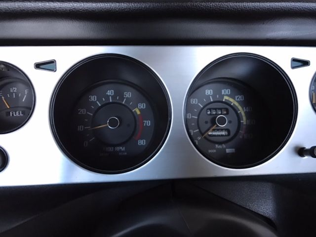 1976 Nissan Skyline GT-X gauge close up