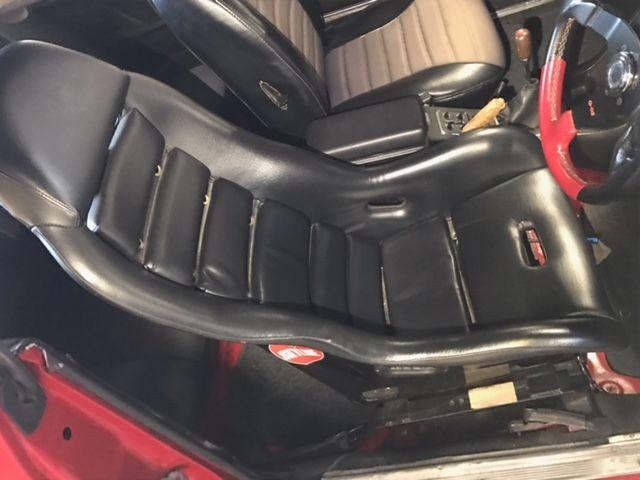 1976 Nissan Skyline GT-X seat