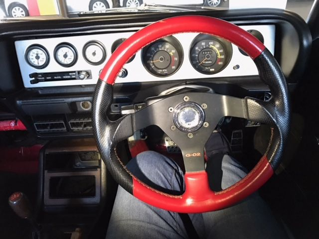 1976 Nissan Skyline GT-X steering wheel
