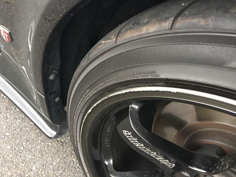 1999 Nissan Skyline R34 GT-R VSpec black wheel rim
