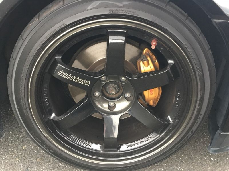 1999 Nissan Skyline R34 GT-R VSpec black wheel
