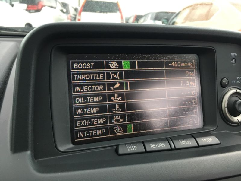 1999 Nissan Skyline R34 GT-R VSpec display screen